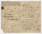 Two letters from William Wordsworth to Edward Quillinan