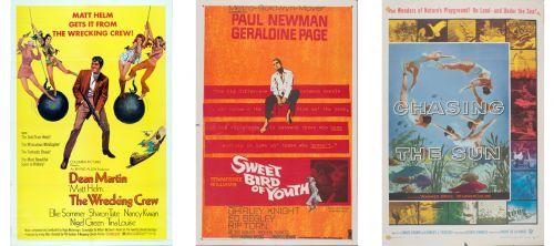Pósters de películas que se encuentran en The Movie Poster Collection